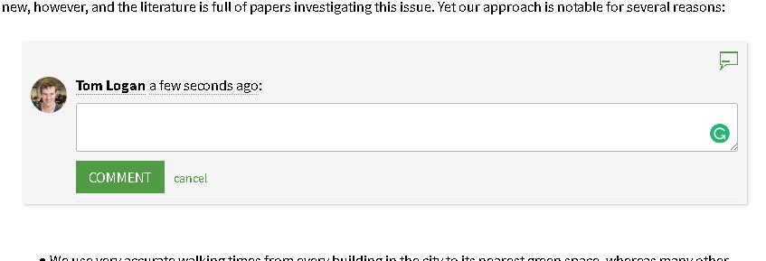 Comparing Editors for Reports